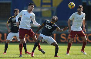 Risultati immagini per verona roma 0-1