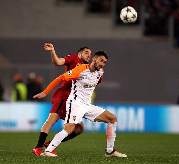 Champions League, Roma-Shakhtar: Ferreyra fa cadere il raccattapalle