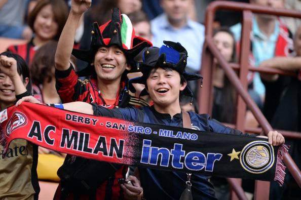 Tifosi Milan-Inter