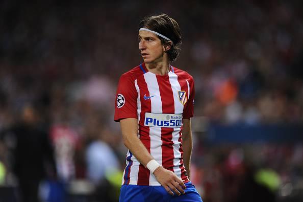 Atletico Madrid, frattura del perone per Filipe Luis: stagione finita