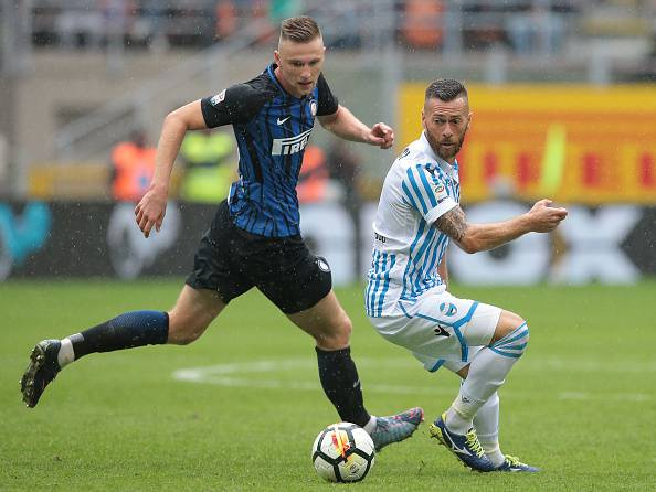 Inter, Ranocchia ko: lesione di primo grado al retto femorale destro