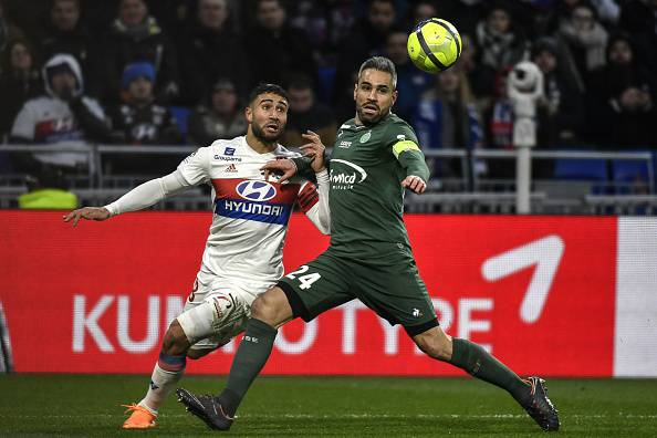 Infortunio Fekir