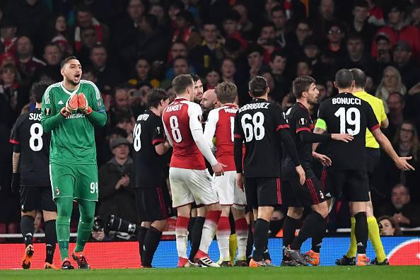 Rigore Arsenal-Milan