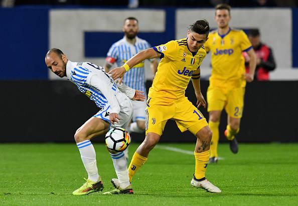 Voti Spal-Juventus
