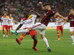 Voti Milan-Benevento