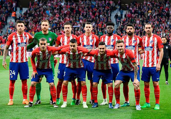 Atletico Madrid-Borussia Dortmund
