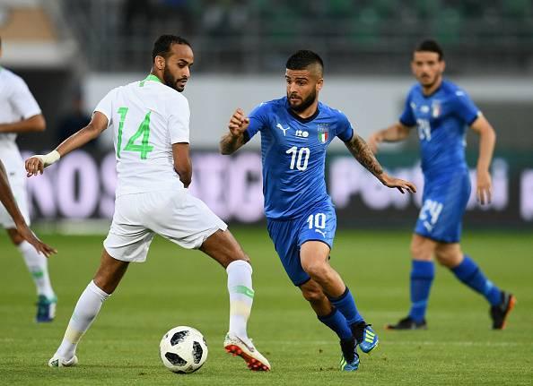 Voti Italia-Arabia Saudita