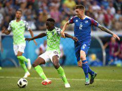 Nigeria-Islanda