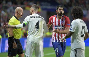 Voti Real Madrid-Atletico Madrid