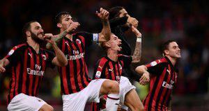 Lista Europa League Milan