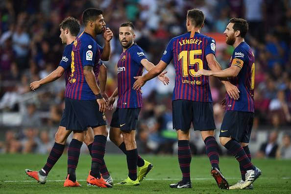 Panchina Barcellona