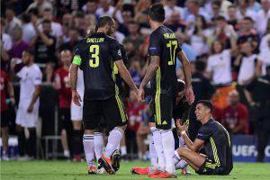 Espulsione Cristiano Ronaldo