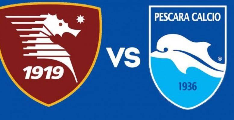 Salernitana-Pescara streaming gratis, no Rojadirecta