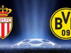 Monaco-Borussia Dortmund streaming