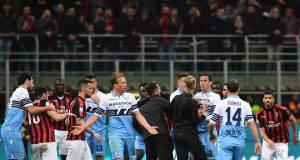 Milan-Lazio diffidati