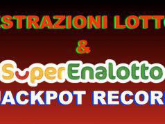Estrazioni Lotto SuperEnalotto e 10eLotto
