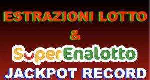 Estrazioni Lotto SuperEnalotto e Simbolotto