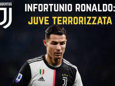 Infortunio Ronaldo juventus