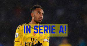 Aubameyang Serie A