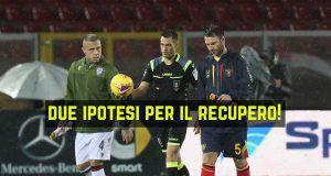 Lecce-Cagliari recupero