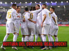 Real Madrid infortunio