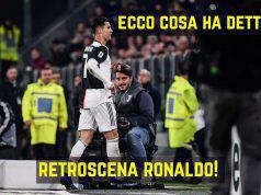 Ronaldo sostituzione