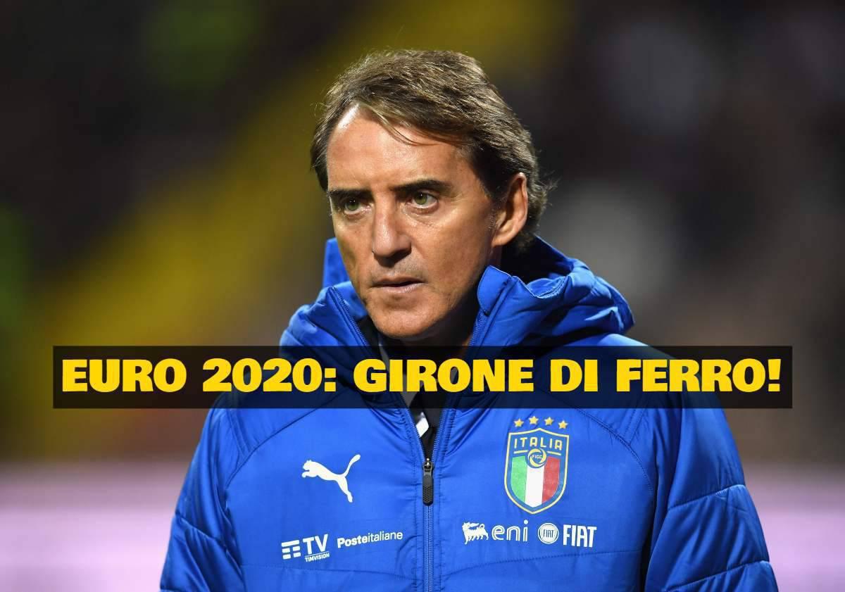 Sorteggio Euro 2020 streaming