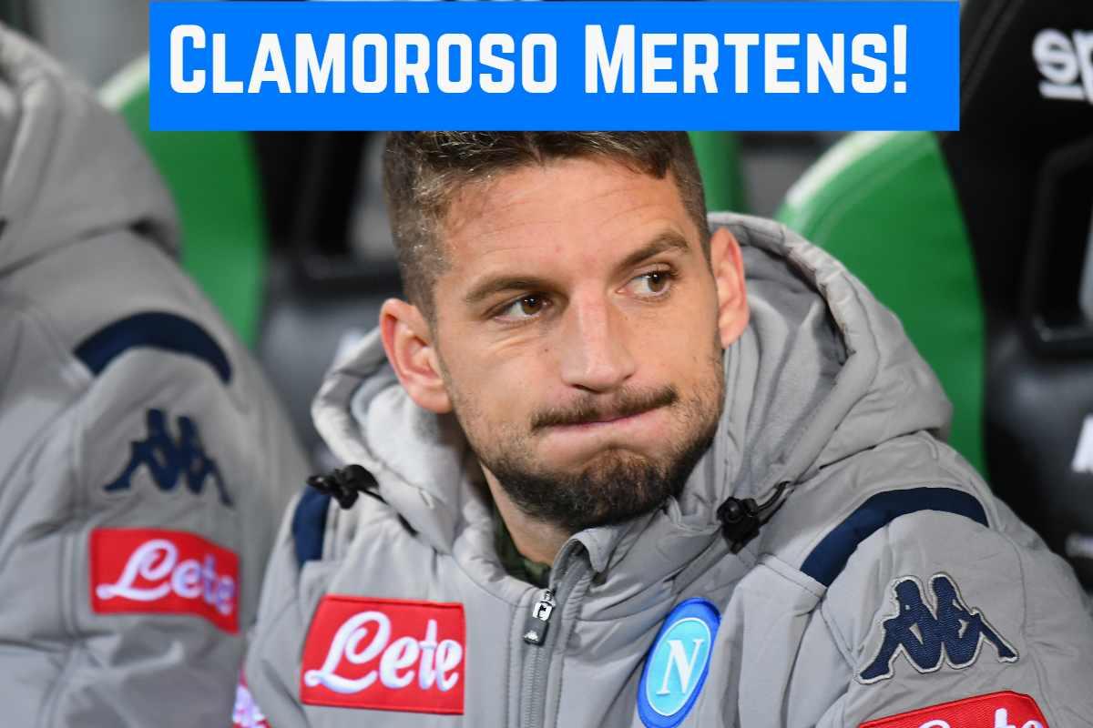 Calciomercato Napoli: Mertens dice no al Borussia Dortmund