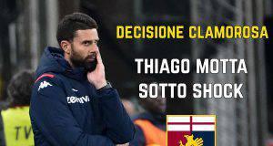 Esonero Thiago Motta
