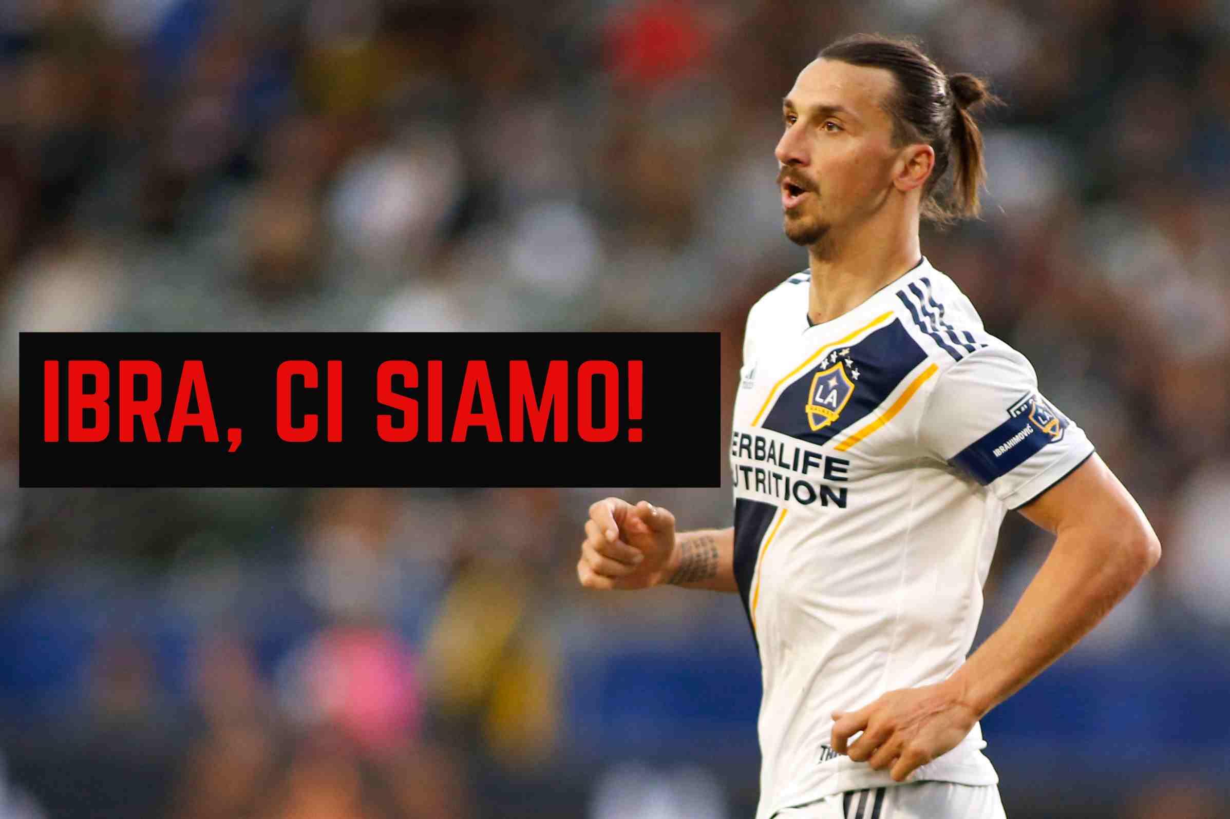 Calciomercato Milan Summit Per Ibrahimovic Le Ultimissime