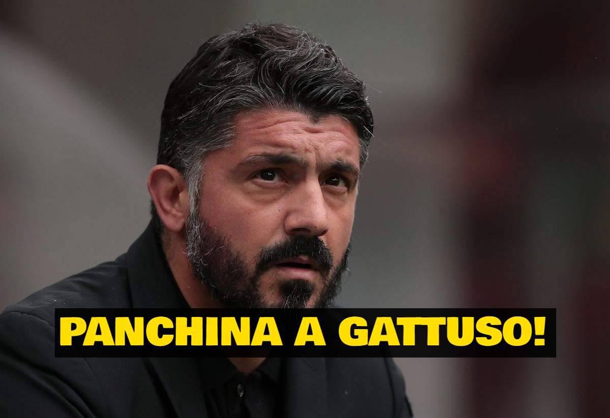 Gattuso panchina
