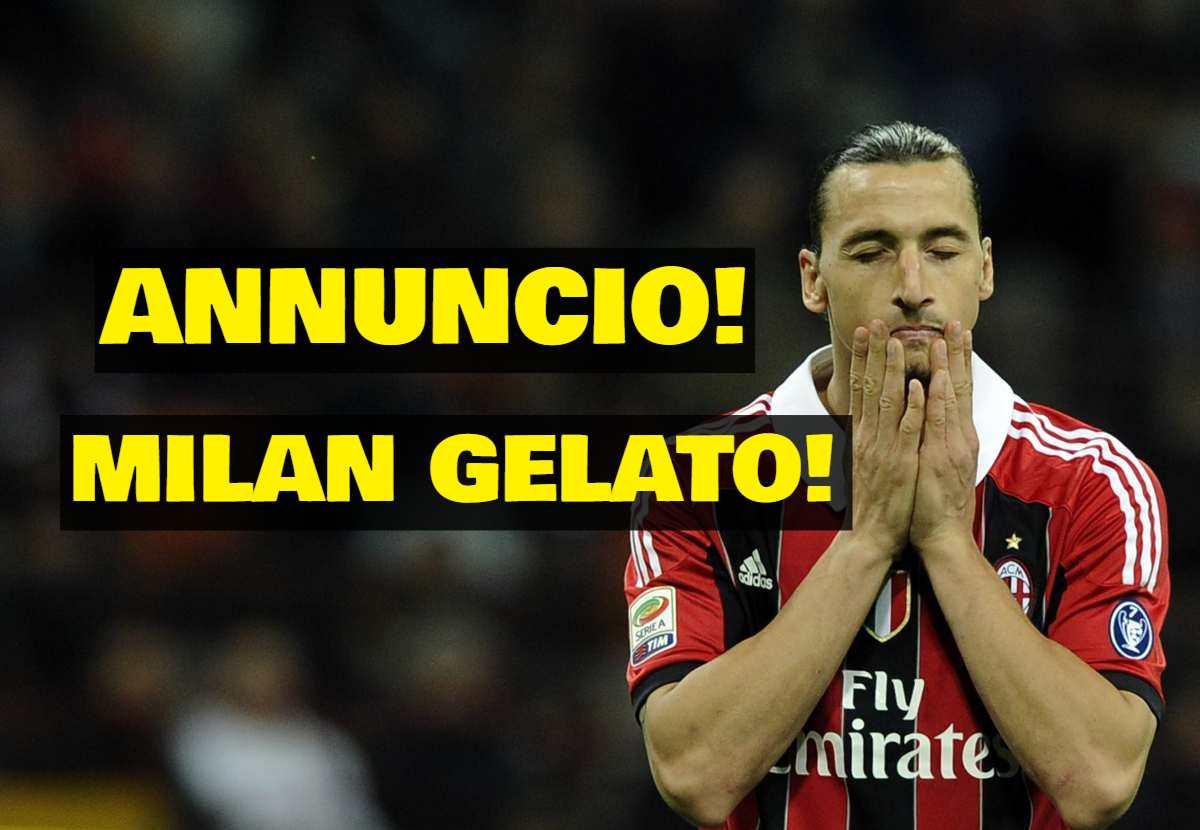 Ibrahimovic Milan calciomercato