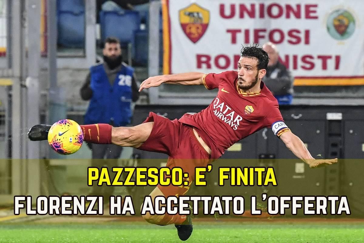 Calciomercato Roma, agente Florenzi a Valencia: le ultime