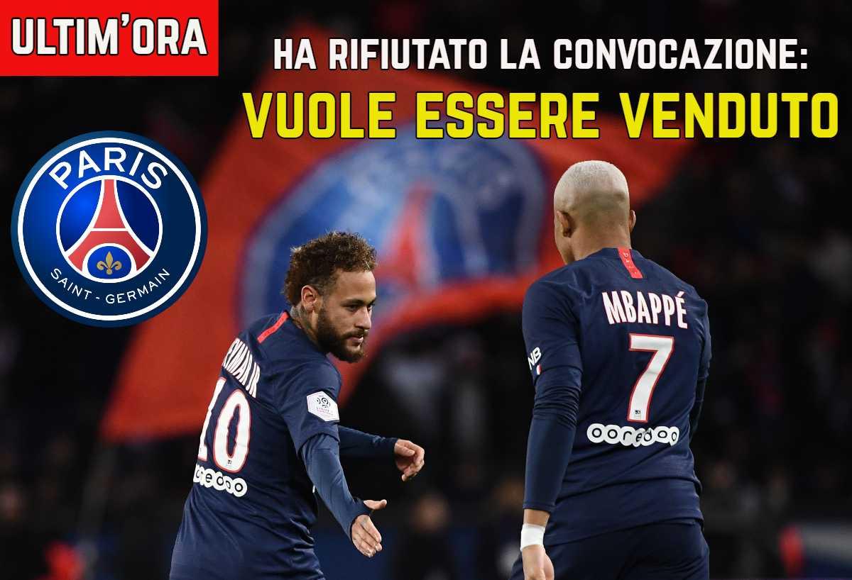 PSG, Leonardo: 'Cavani ci ha chiesto di andare via'