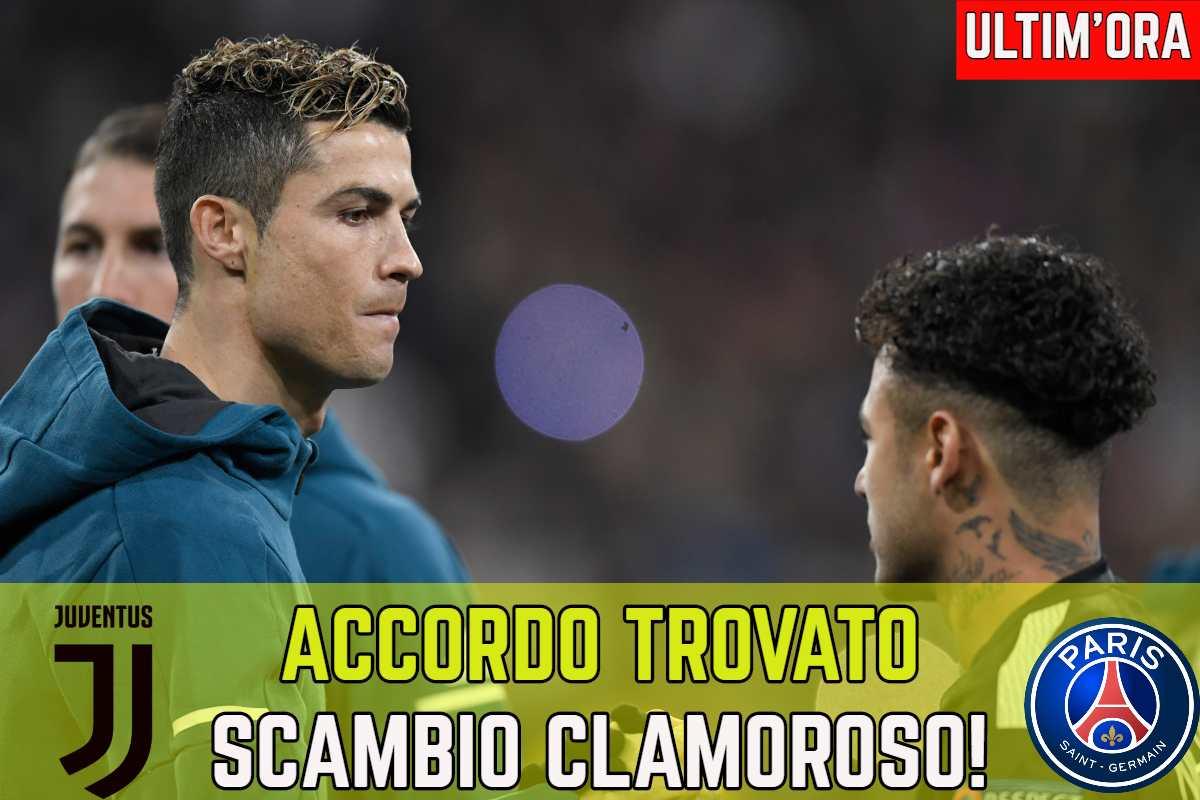 Calciomercato Juventus, clamoroso scambio col PSG: si può chiudere subito