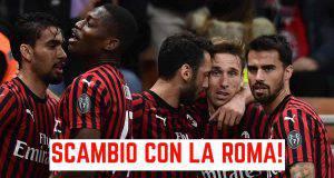 Scambio Milan Roma