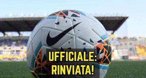 Verona-Genoa rinvio