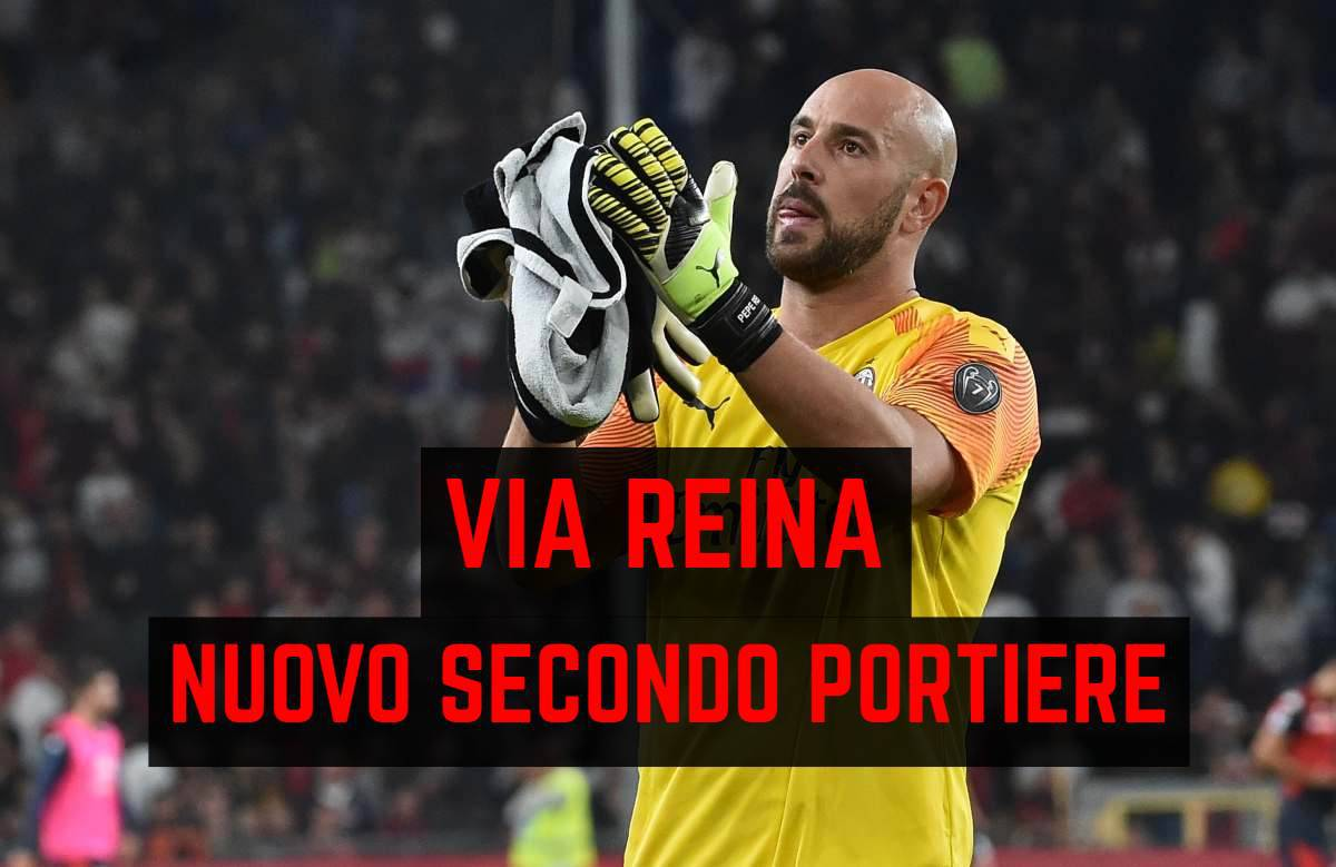 Calciomercato Milan, Reina vicino all'Aston Villa: l'agente è in sede