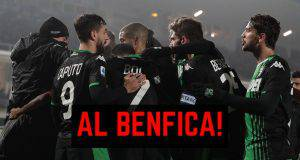 Scamacca Sassuolo Benfica