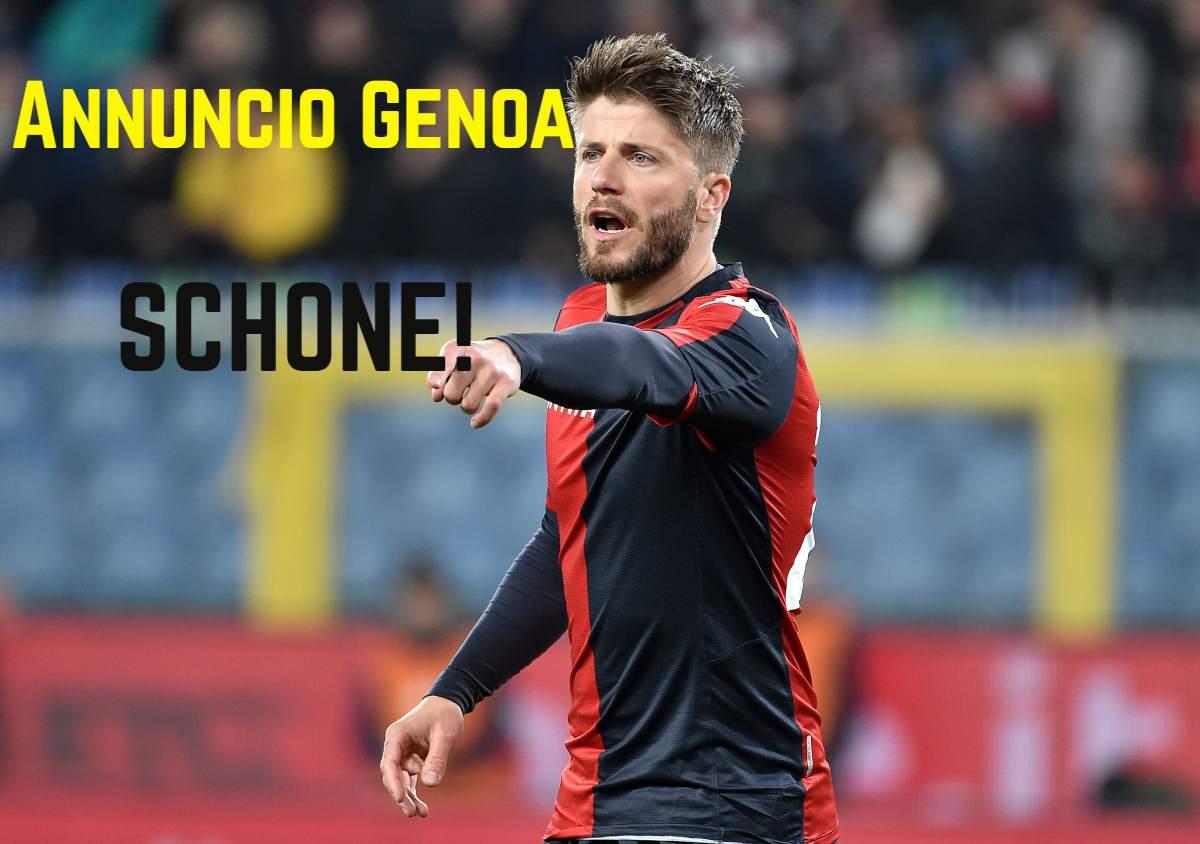 Genoa, ecco i tempi di recupero dagli infortuni per Ghiglione e Schone