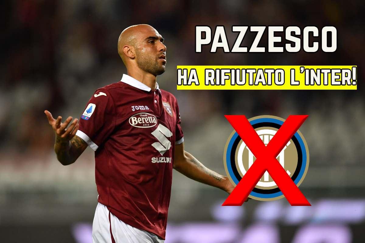L'Inter aveva scelto Zaza, lui no: il retroscena