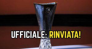 CoEuropa League rinviata