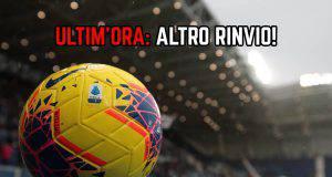 Pro Vercelli-Novara rinviata