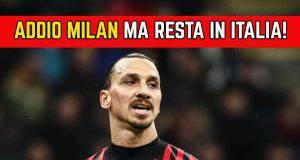 Addio Milan Ibrahimovic