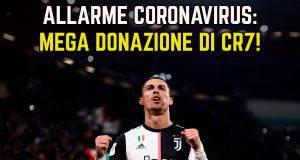 Allarme Coronavirus Ronaldo