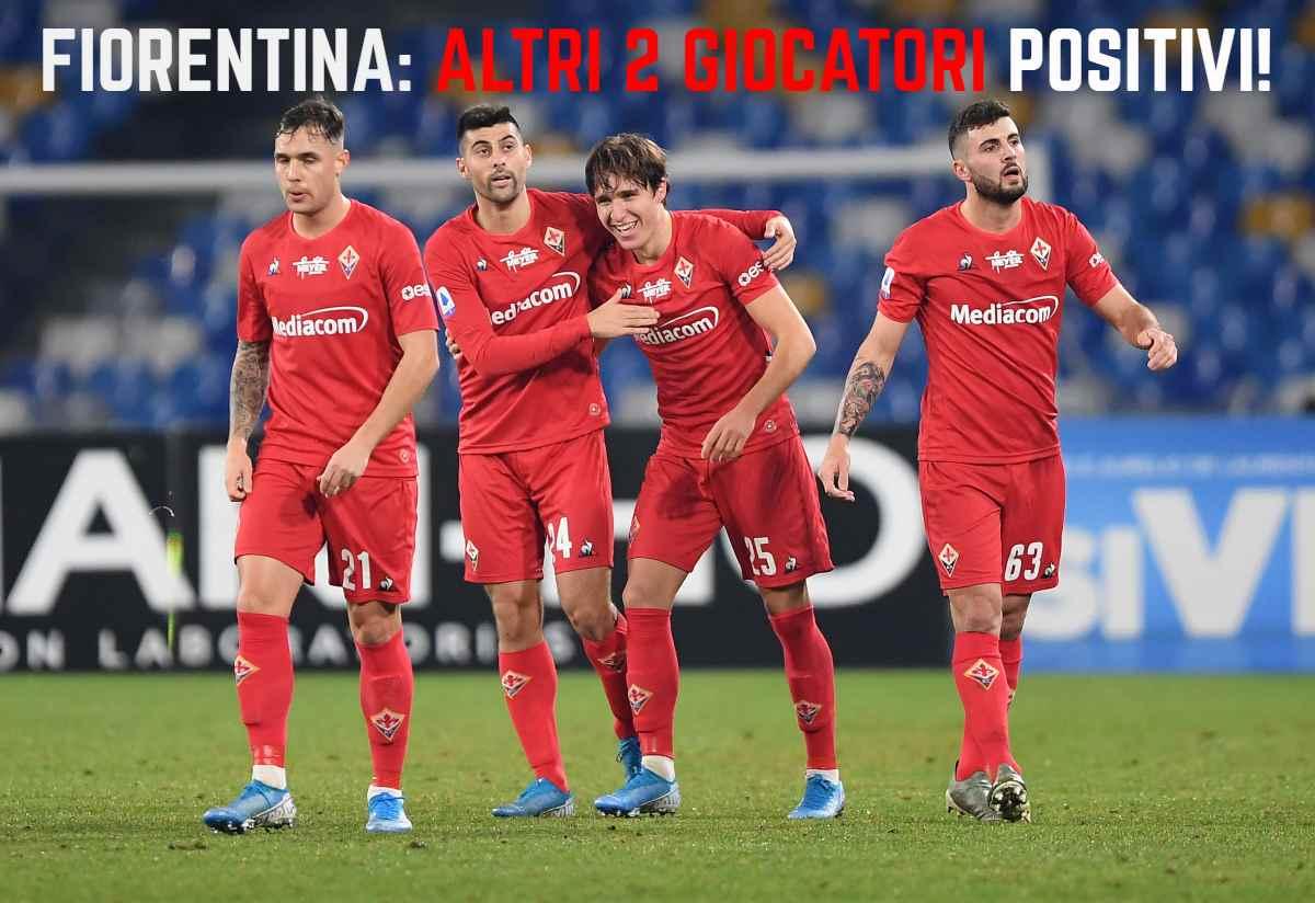 Fiorentina, positivi al coronavirus Cutrone, Pezzella e Dainelli
