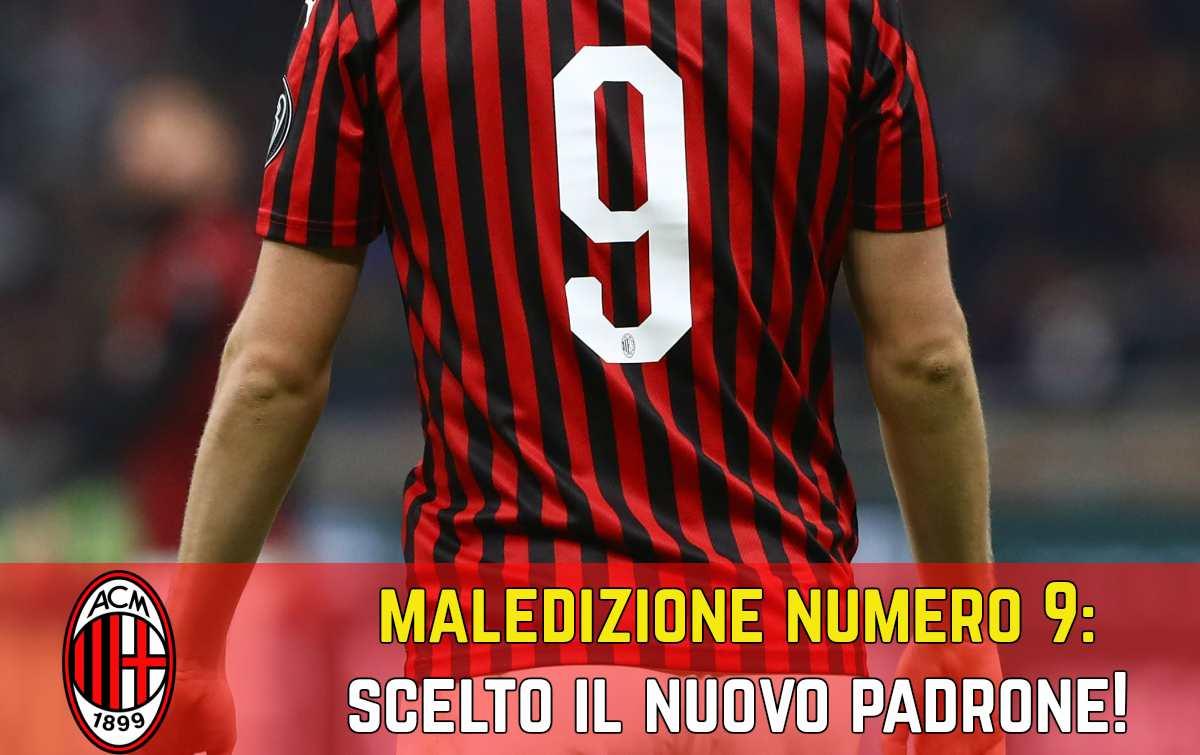 Maledizione numero 9 Milan