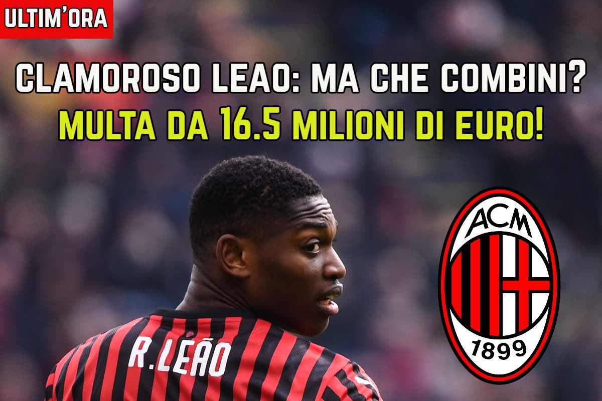 Leao deve pagare 16,5 milioni allo Sporting Lisbona