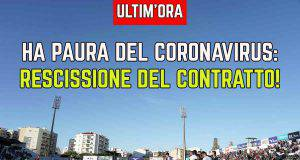 Rescissione contratto Coronavirus