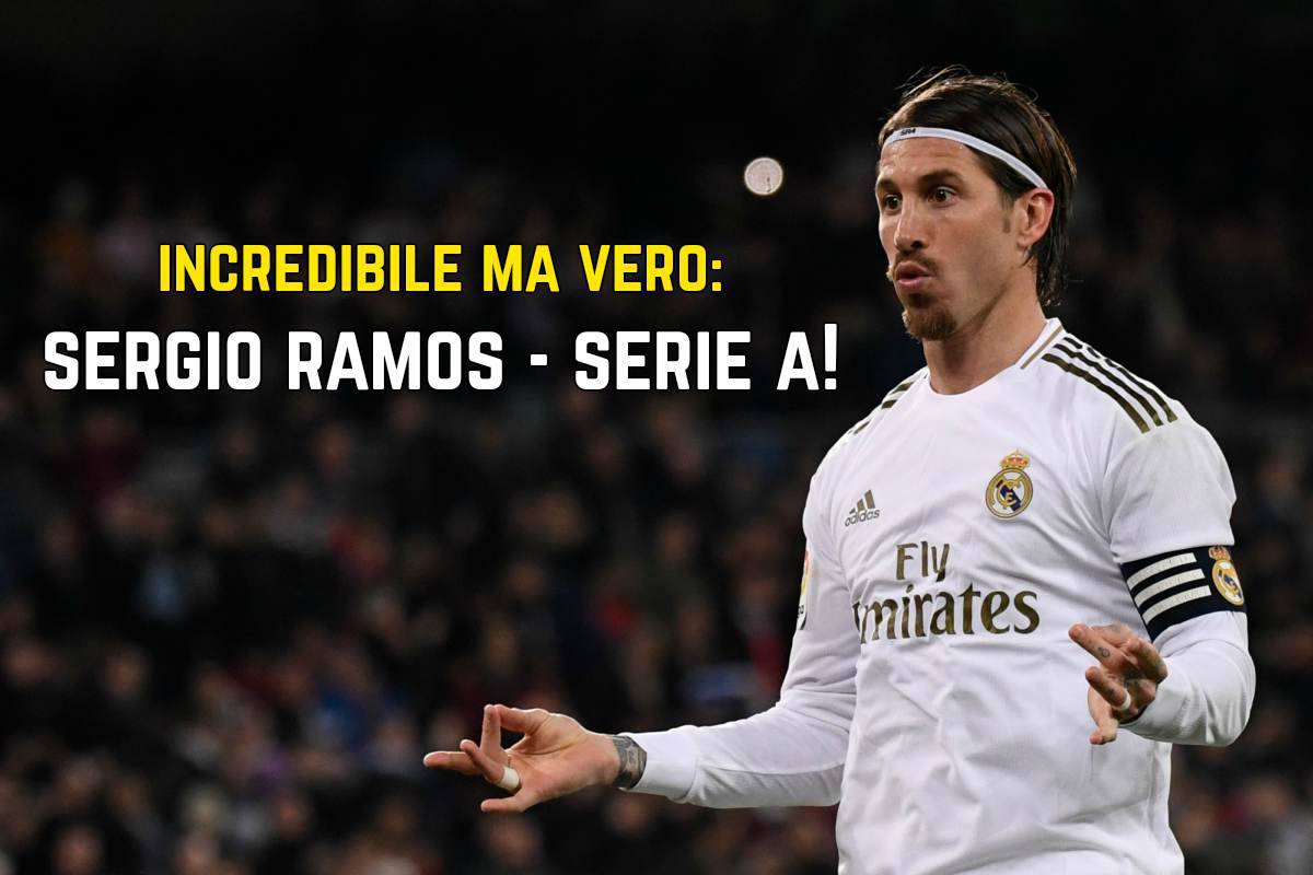 Ramos Juventus, non rinnova col Real Madrid: prima offerta di Paratici